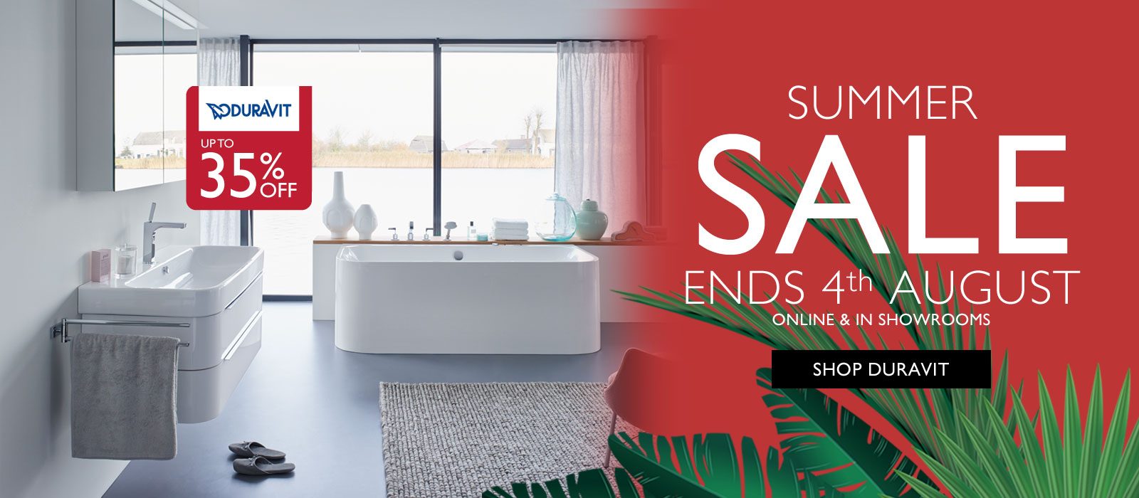 Save up to 35% off Duravit