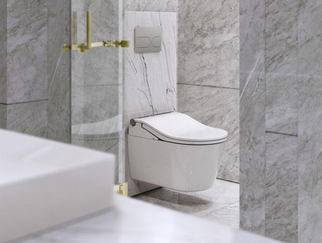 Moderne badkamers TOTO Japans toilet