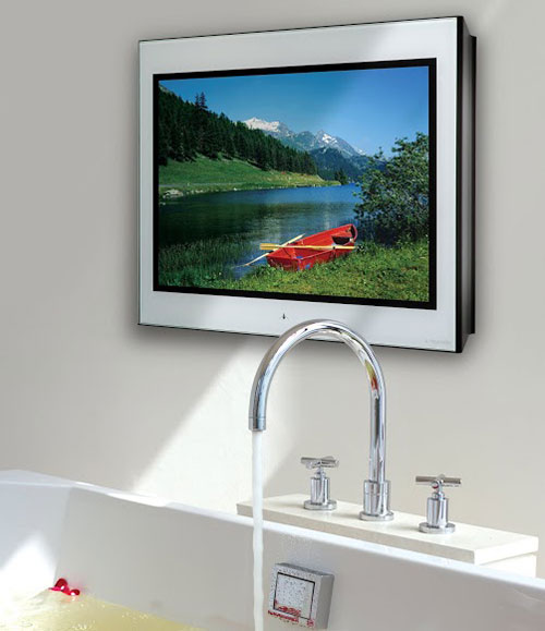 Aquavision TV for the bathroom