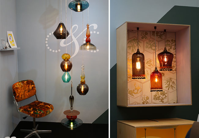 Lighting from Curiousa & Curiousa at decorex