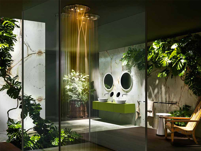 Gessi cono shower