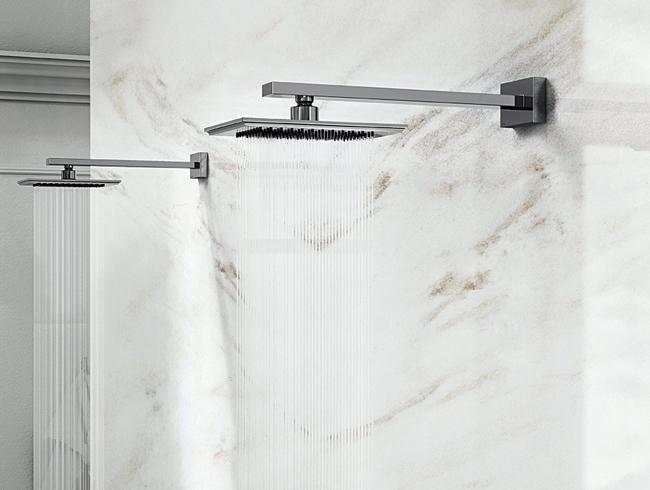 Gessi rainfall luxury shower