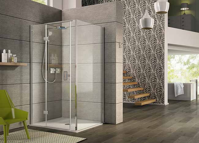 Matki Twin Entrance wetroom panel