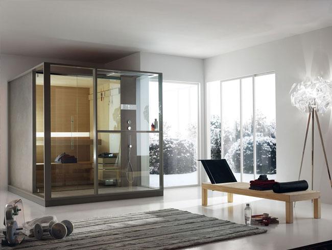Moderne badkamer spa