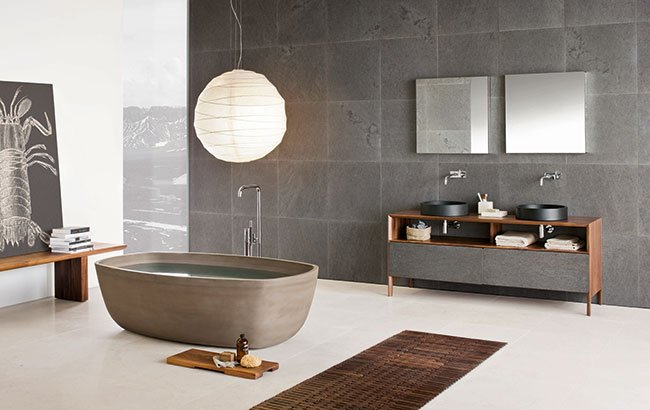 Neutra Inkstone Bath