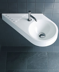 sinks for narrow bathrooms