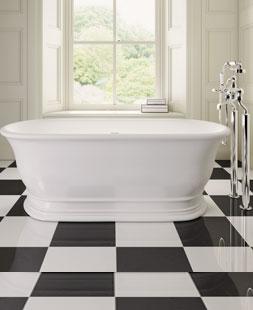 Luxury Designer Inset Freestanding Baths From CP Hart