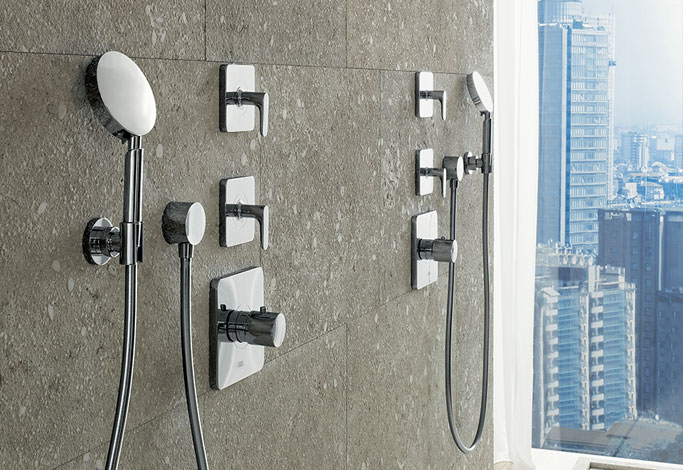 Thermostatic Shower Valves Shower Fittings Amp Controls