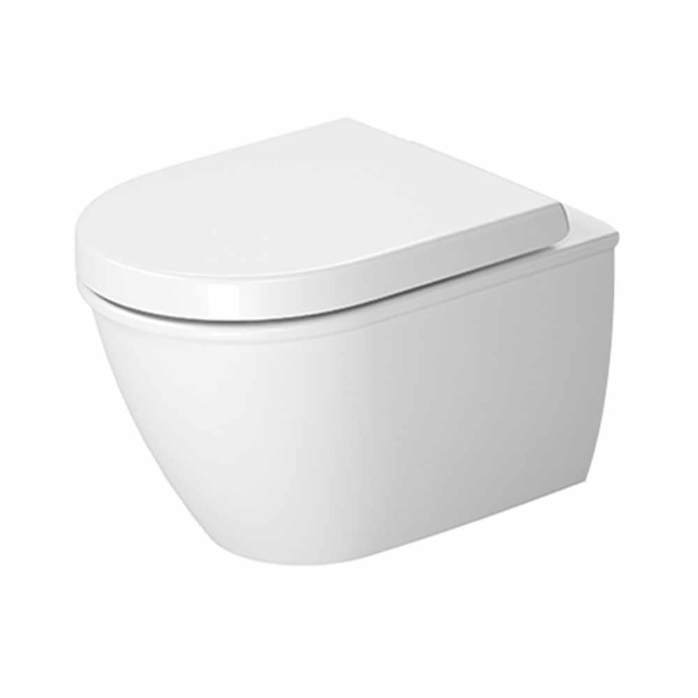 Duravit darling new compact wall mounted toilet from c p hart