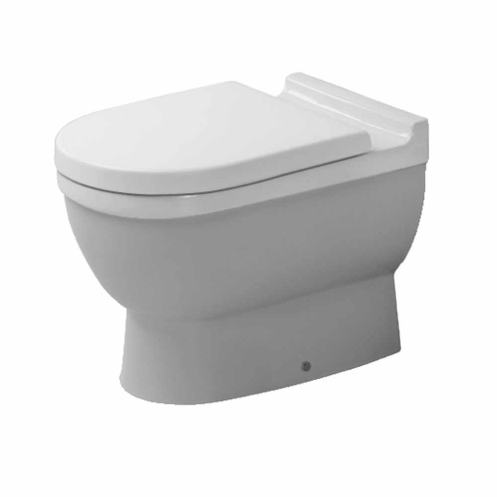 Duravit starck 3 back to wall toilet toilets from c p hart