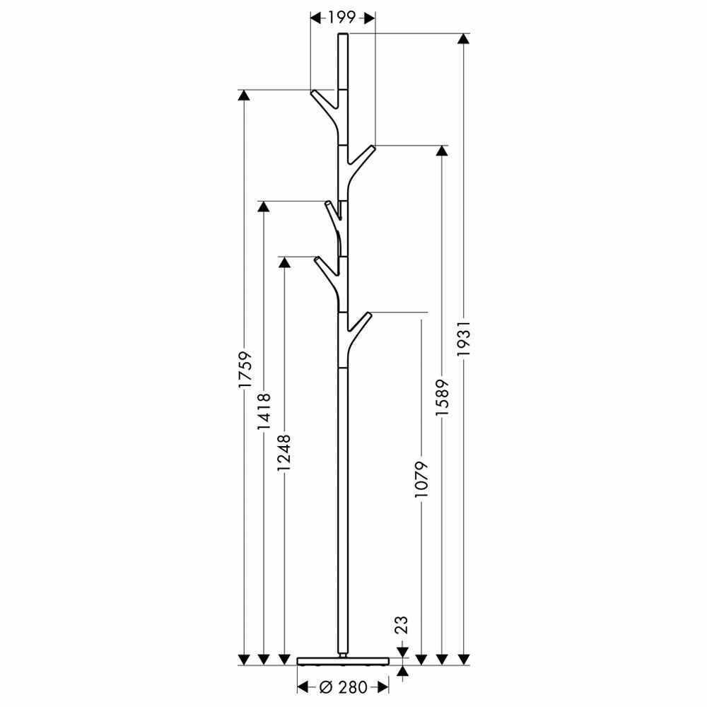 Hansgrohe Axor Massaud Freestanding Towel Stand | Towel Rails ... - Hansgrohe Axor Massaud Freestanding Towel Stand