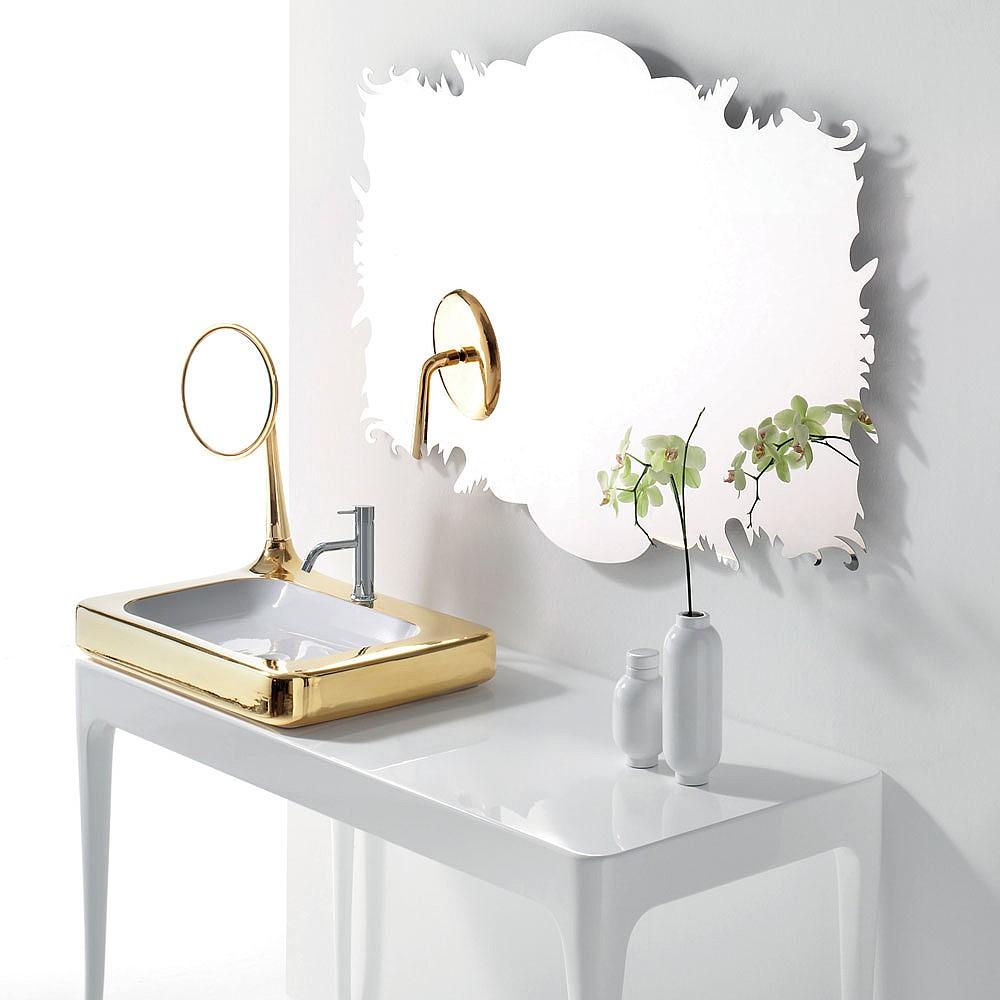 Bisazza Organico Stainless Steel Mirror Bathroom Mirrors Cp Hart