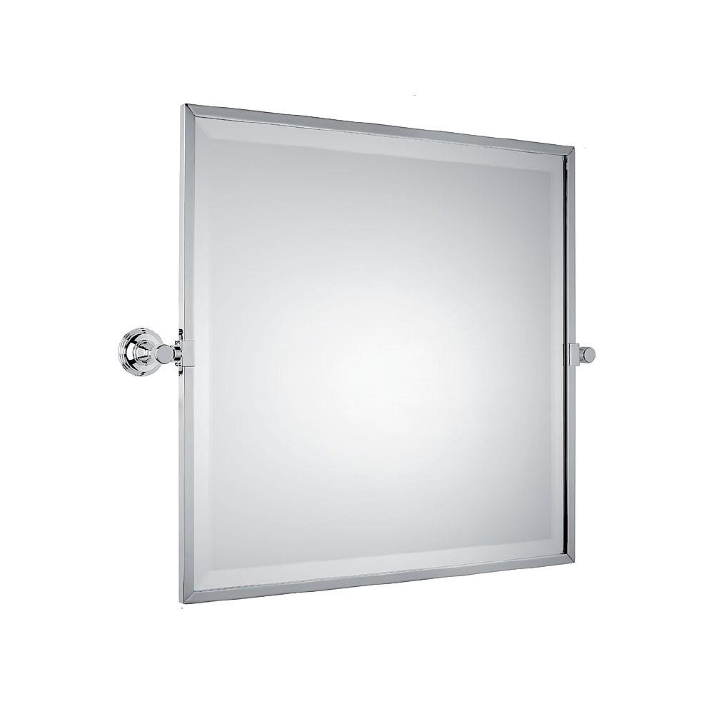 Bevelled Bathroom Mirror Samuel Heath Style Moderne Framed Bevelled Tilting Mirror