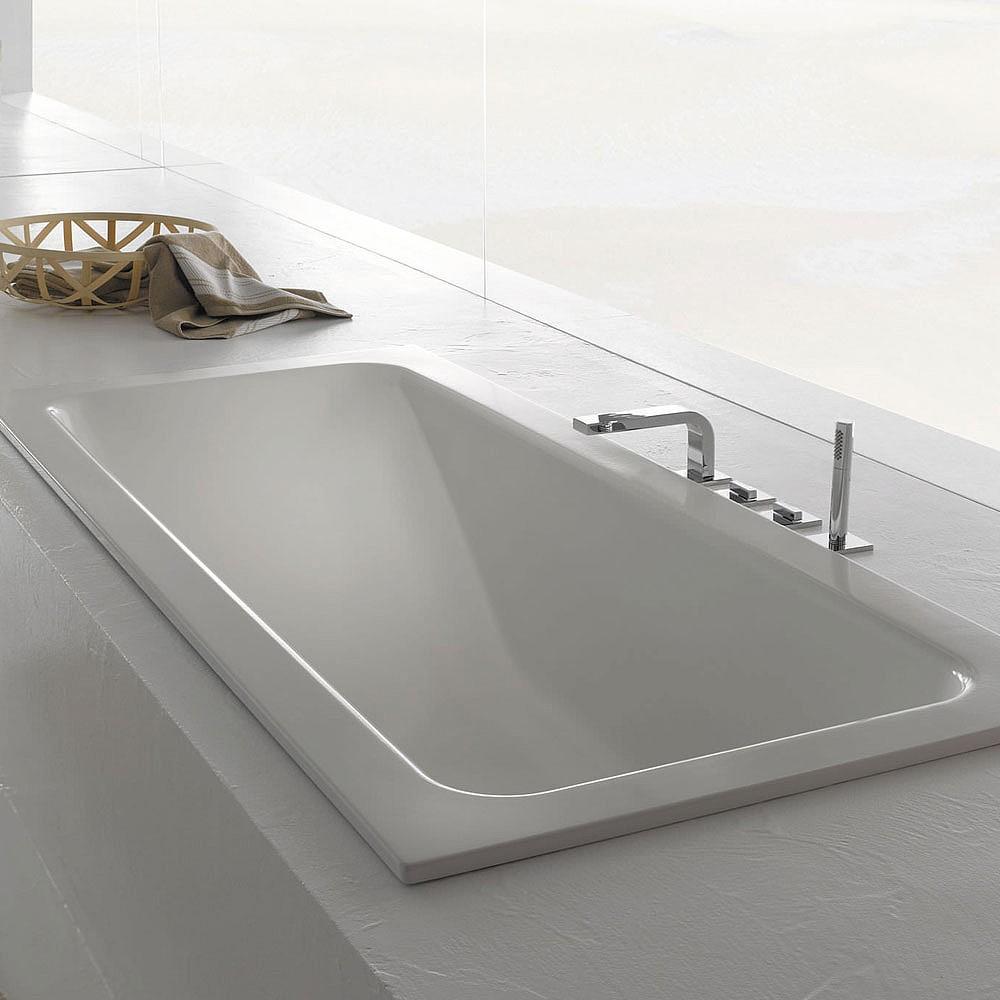 bette one relax steel inset bath inset baths cp hart size