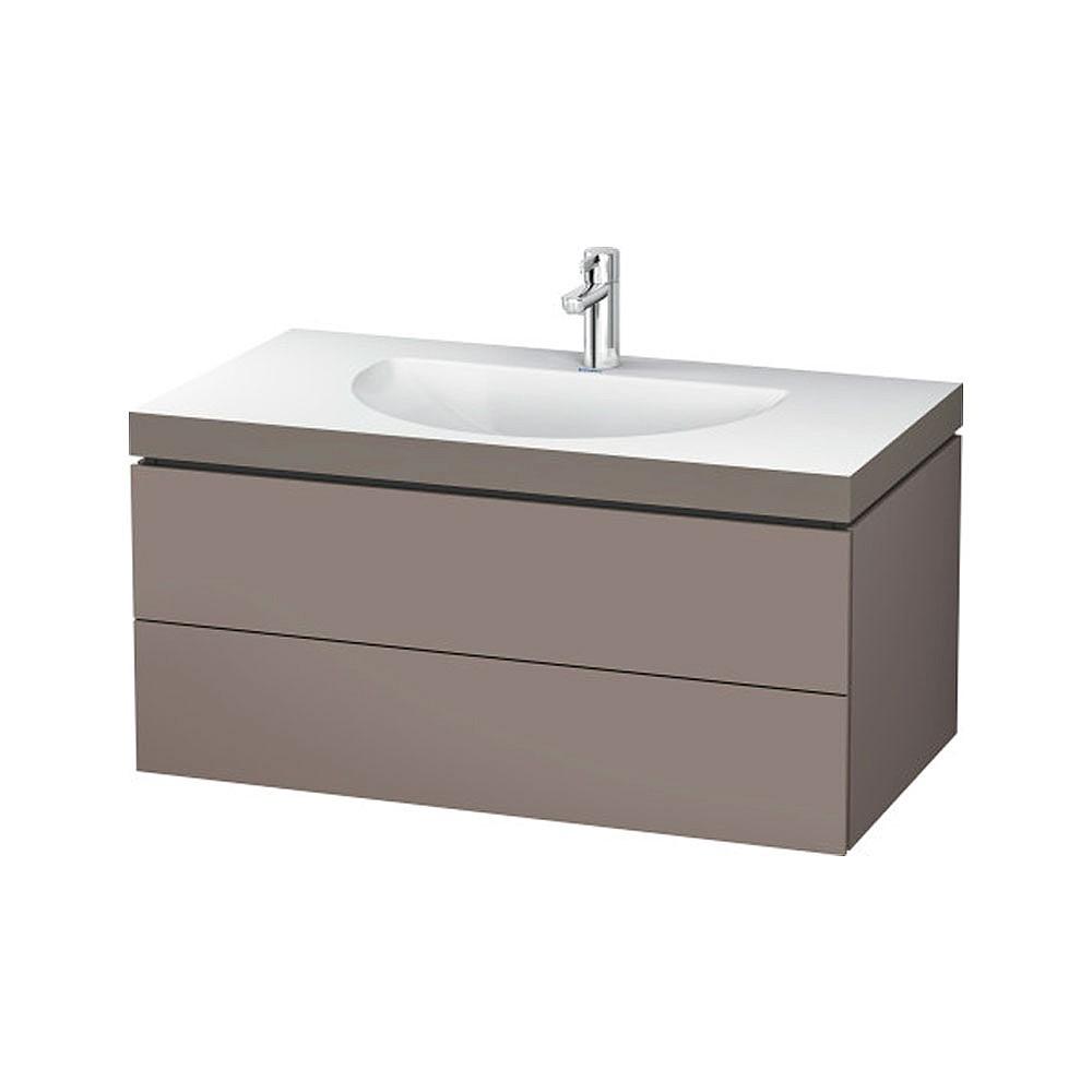 Duravit L Cube C Bonded Wall Mounted 2 Drawer Vanity Unit 1000mm Bathroom Vanity Units Cp Hart