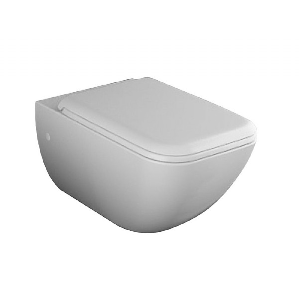 Cielo Shui Comfort Wall-Mounted Pan With Fixings