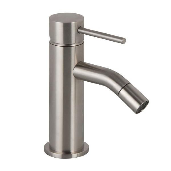 Spillo Steel Single Lever Bidet Mixer with Pop-Up Waste