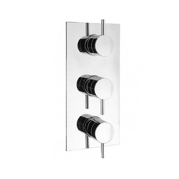 Crosswater Kai Lever Thermostatic Shower Valve Three Controls