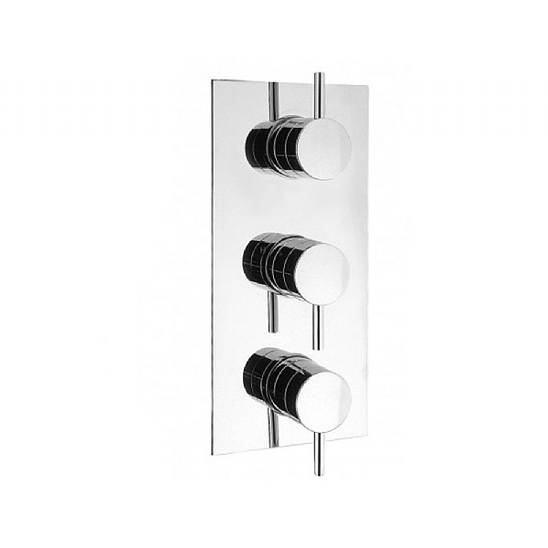Crosswater Kai Lever Thermostatic Shower Valve Three Way Diverter