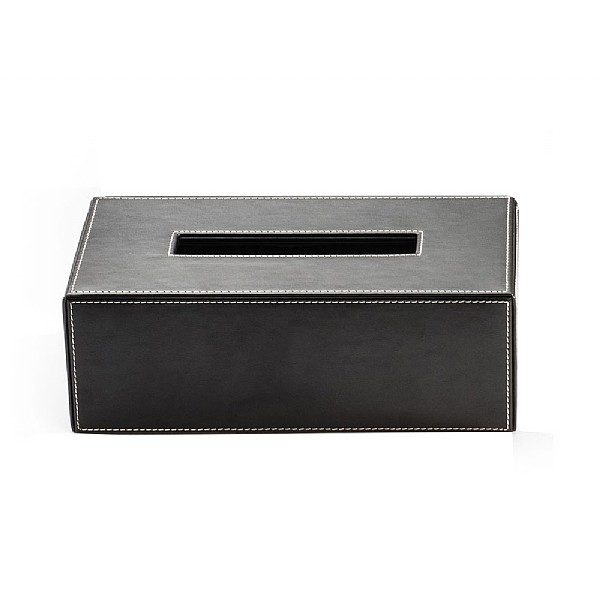 Decor Walther Rectangular Leather Tissue Box