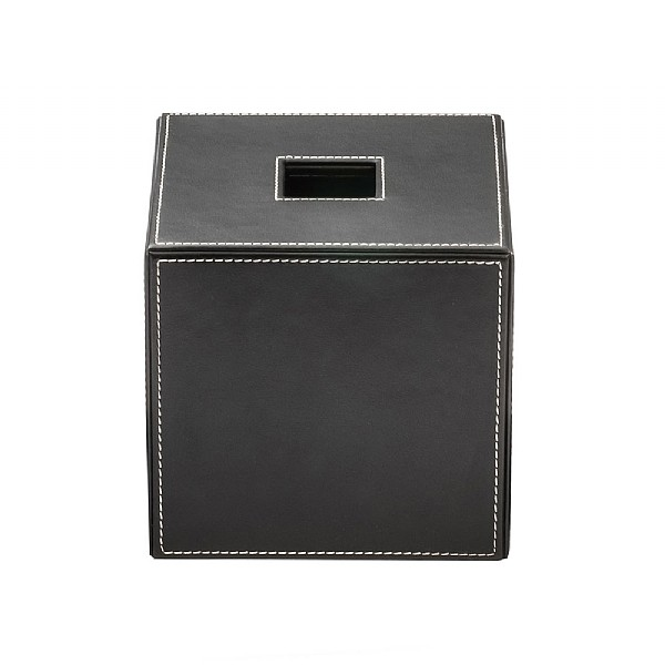 Decor Walther Leather Tissue Box