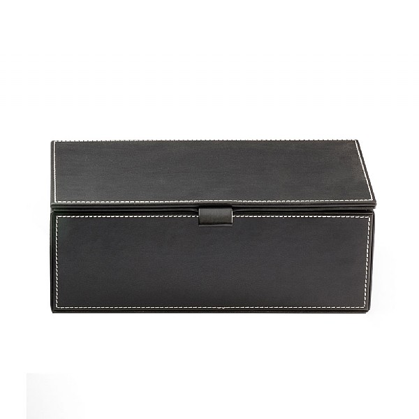 Decor Walther Leather Box with Lid