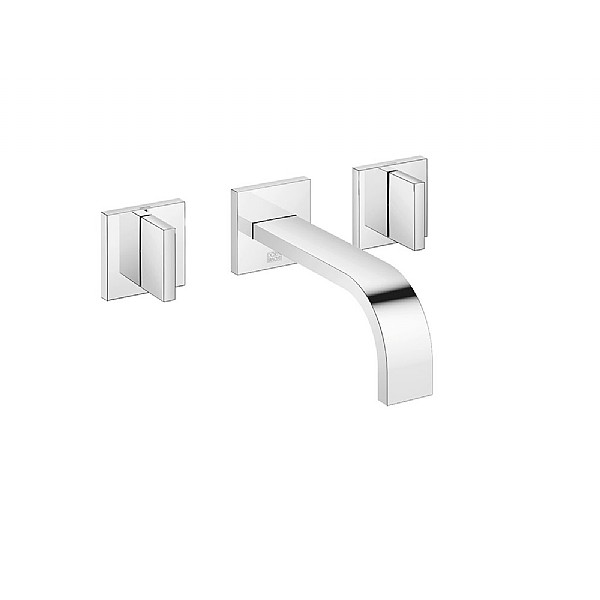 dornbracht mem wall mounted basin mixer basin taps cp hart. Black Bedroom Furniture Sets. Home Design Ideas