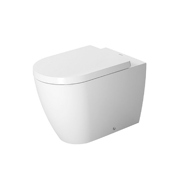Duravit ME by Starck Back-To-Wall Pan 600mm Satin Matt White