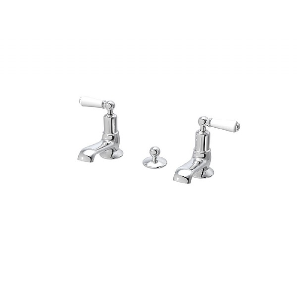 Arc Washbasin Pillar Taps