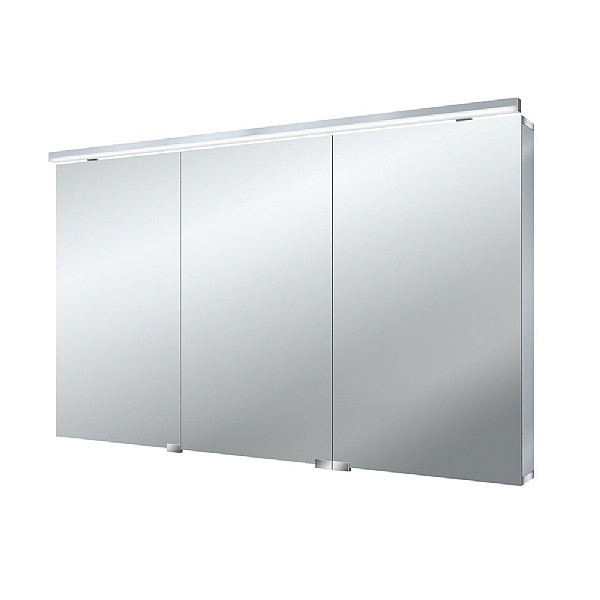 Hart 3 Door Bathroom Mirror Cabinet