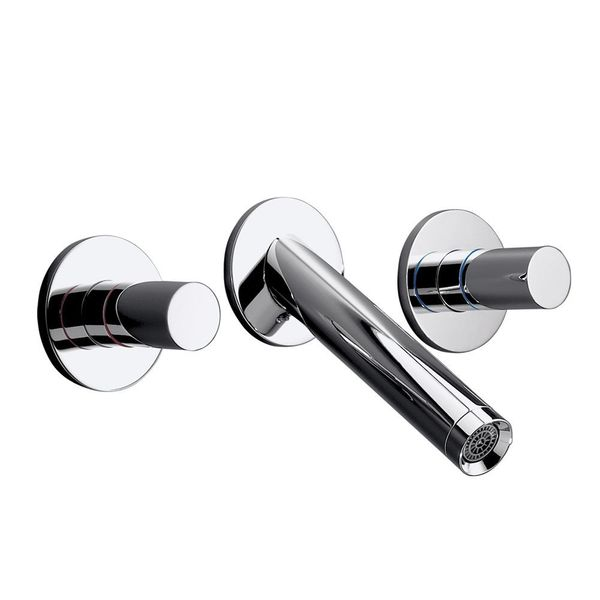 AXOR Starck Wall-Mounted 3-Piece Basin Mixer