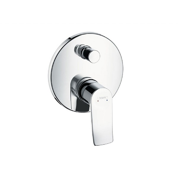 hansgrohe Metris Wall-Mounted Concealed Bath and Shower Control