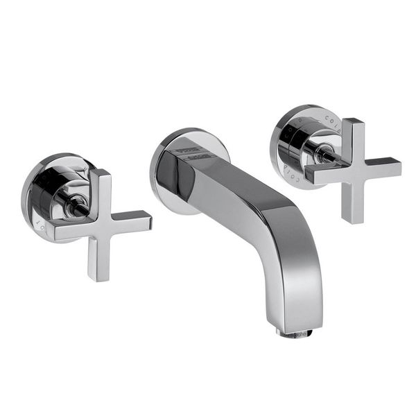 hansgrohe axor citterio 3 piece cross head basin mixer basin taps cp hart. Black Bedroom Furniture Sets. Home Design Ideas
