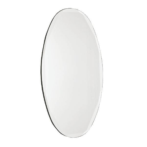 Hoxton Bevelled Oval Mirror