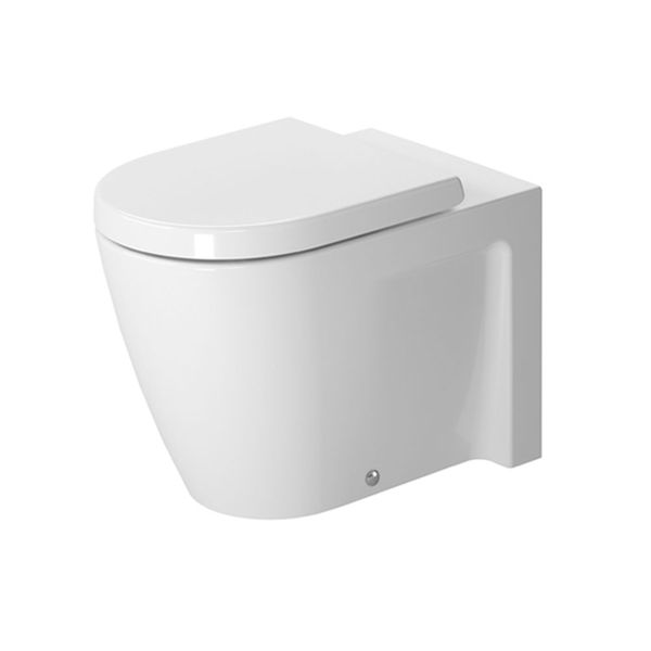 Duravit Starck 2 Back-To-Wall Pan