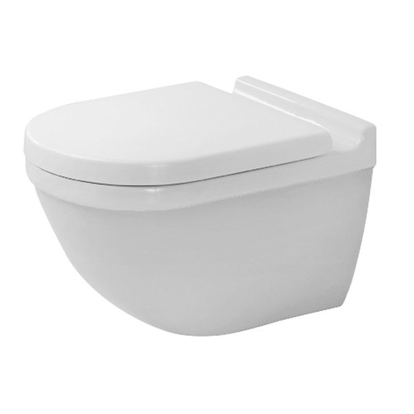 Duravit Starck 3 Wall Mounted Toilet With Durafix From C