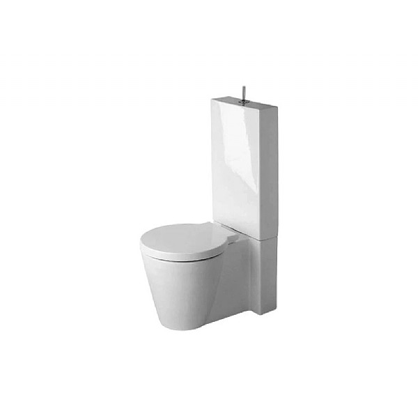 duravit starck 1 close coupled toilet toilets from c p. Black Bedroom Furniture Sets. Home Design Ideas