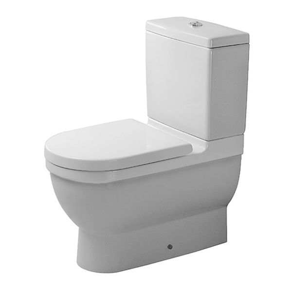 Duravit Starck 3 Back-to-Wall Close-Coupled Pan
