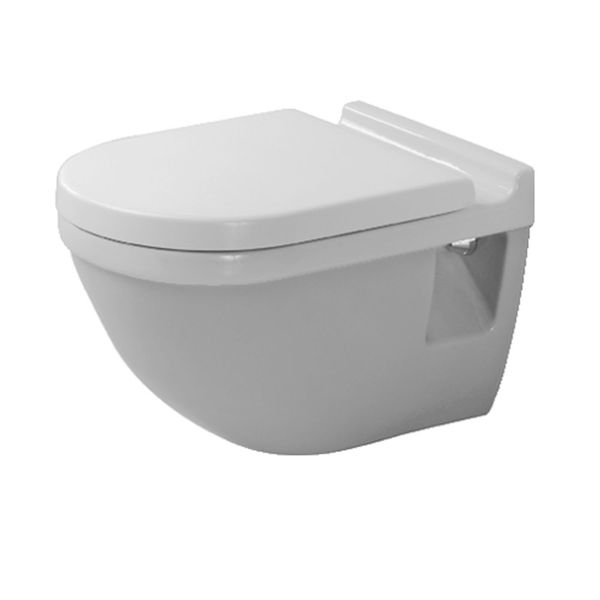duravit starck 3 wall mounted toilet toilets from c p. Black Bedroom Furniture Sets. Home Design Ideas