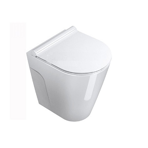 Zone Compact Back-To-Wall Pan