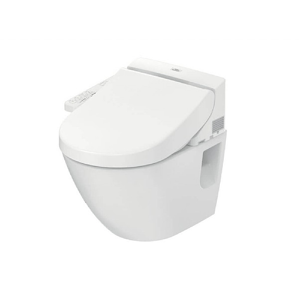 TOTO EK Washlet 2.0 & NC Wall-Mounted Pan (Side Connection)