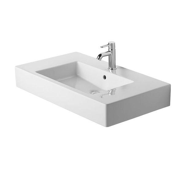 Duravit Vero Washbasin With Double Ledge Washbasins Cp
