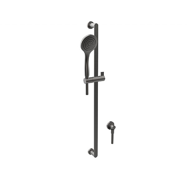 Gessi Sliding Rail with Handshower, Rubber Hose & Water Outlet
