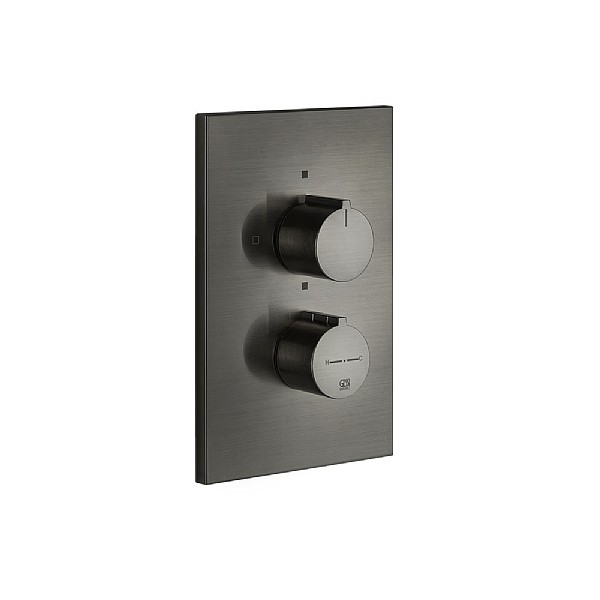 Gessi Via Manzoni Thermostatic Mixer With 2 Way Diverter