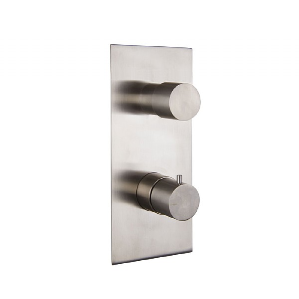Spillo Steel One Way Thermostatic Shower Valve