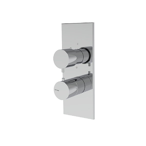 Spillo Three Way Dual Control Thermostatic Shower Valve