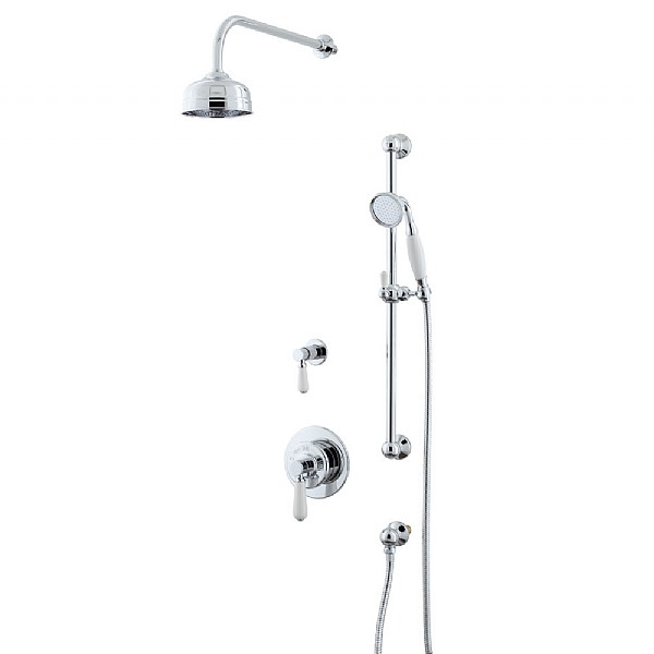 Waterloo Shower Set (Valve & Diverter, Flexible Kit & Shower Head)
