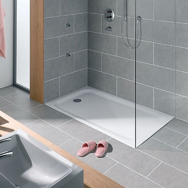 Hart Steel Shower Tray Rectangle Shower Trays Cp Hart