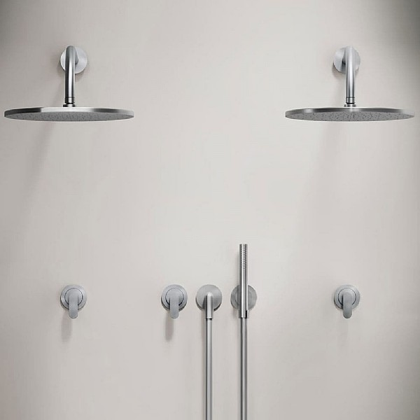 John Pawson Set 31.1 Double Shower Set With Pencil Hand Shower