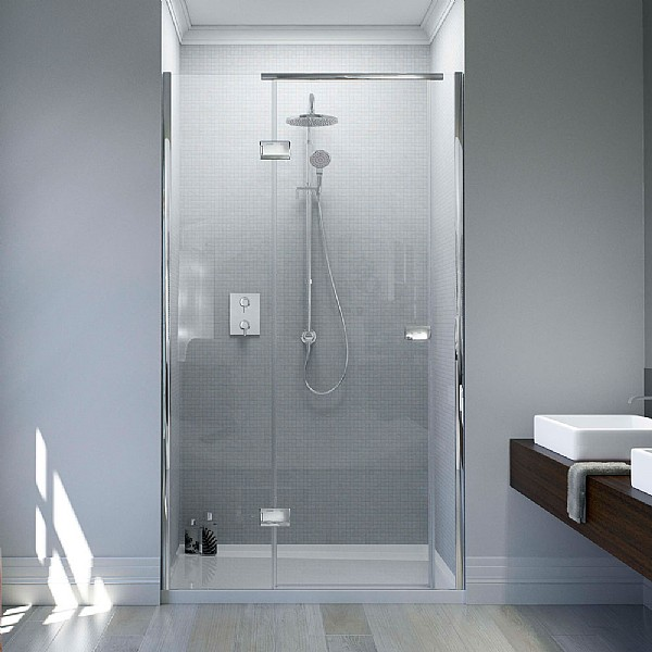 Matki Illusion Recess Shower Enclosure With Raised Tray
